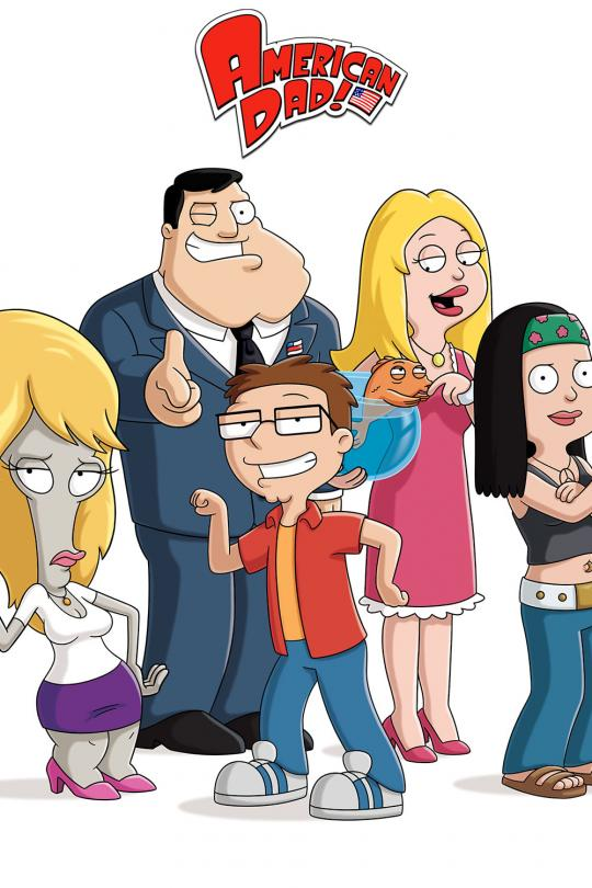 American Dad TV6 onsdag 14 mar kl 01:35