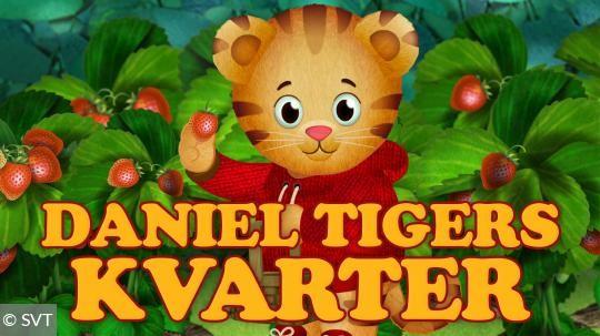 Daniel Tigers kvarter Barnkanalen lördag  kl 06:10
