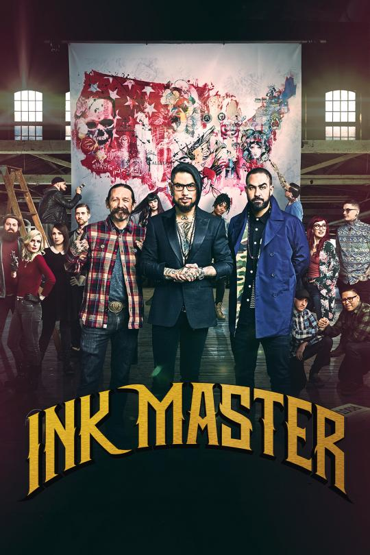 Ink Master TV6 lördag  kl 12:50